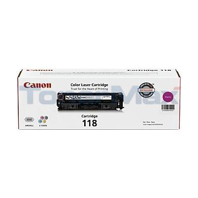 CANON 118 TONER CARTRIDGE MAGENTA